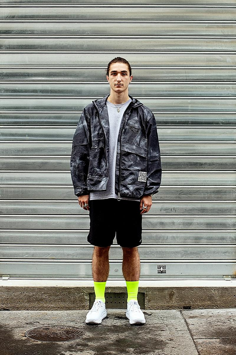 paperboy Paris distance running store collection t-shirt capsule special menu information