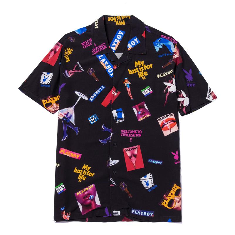playboy huf collaboration collection apparel accessories release