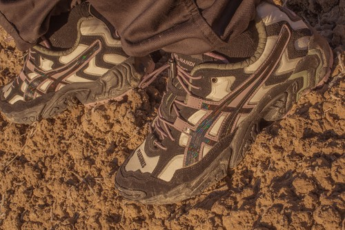 PLEASURES Gives ASICS' GEL-NANDI OG an Iridescent Trail Twist