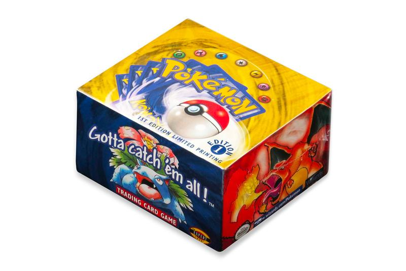 Pre Auction Rare Pokemon Box Set 300000 USD dollars charizard gotta catch em all booster pack gem mint condition heritage auctions