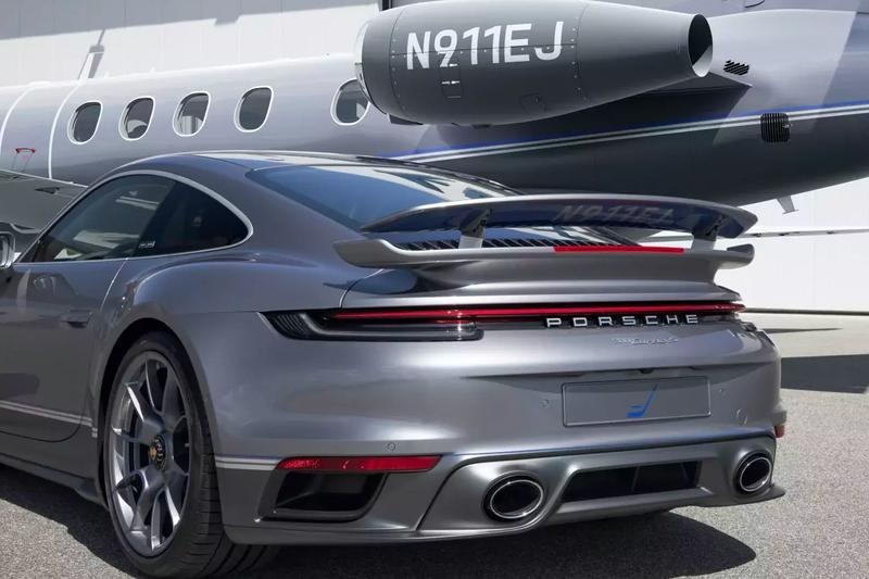 "You Can Now Purchase 1-of-10 Porsche x Embraer 911 Turbo S/Business Jet ""Duet"" Combos Embraer Phenom 300E light jet  business jet coronavirus Covid-19 German Brazilian millionaire sporst cars watches"