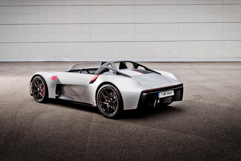 Porsche Unseen Concept Cars Supercars Hypercars Racing Car Vans 919 Street Vision Spyder Renndienst Electric Vehicles Closer First Look German Automotive Engines Power Speed Performance