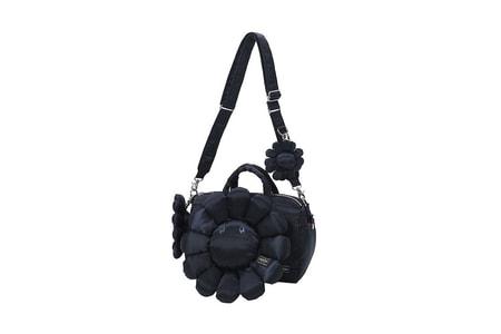 Takashi Murakami Brings Floral Motif to PORTER Bags