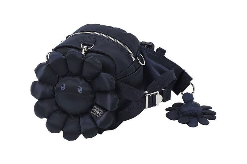 takashi murakami porter 85th anniversary doctors helmet tool fanny pack bag release information flower details