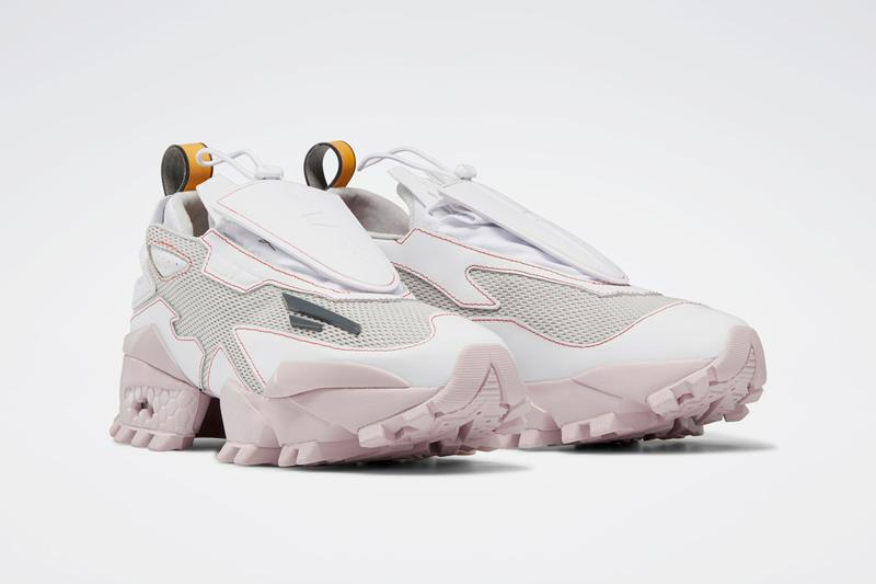 pyer moss kerby jean raymond reebok experiment 4 fury trail salty grey old white ashen lilac red FX7547 official release date info photos price store list buying guide
