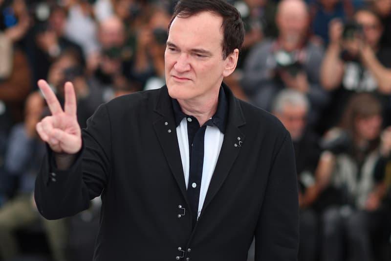 Quentin Tarantino writing Once Upon a Time in hollywood Novel news harper collins brad pitt leonardo dicaprio margot robbie
