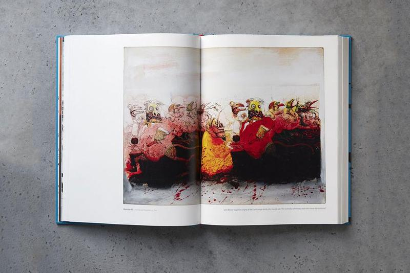 ralph steadman a life in ink chronicle books release artworks drawings illustrations