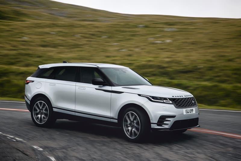 land range rover suv all wheel drive velar hybrid electric powertrain motor engine off road