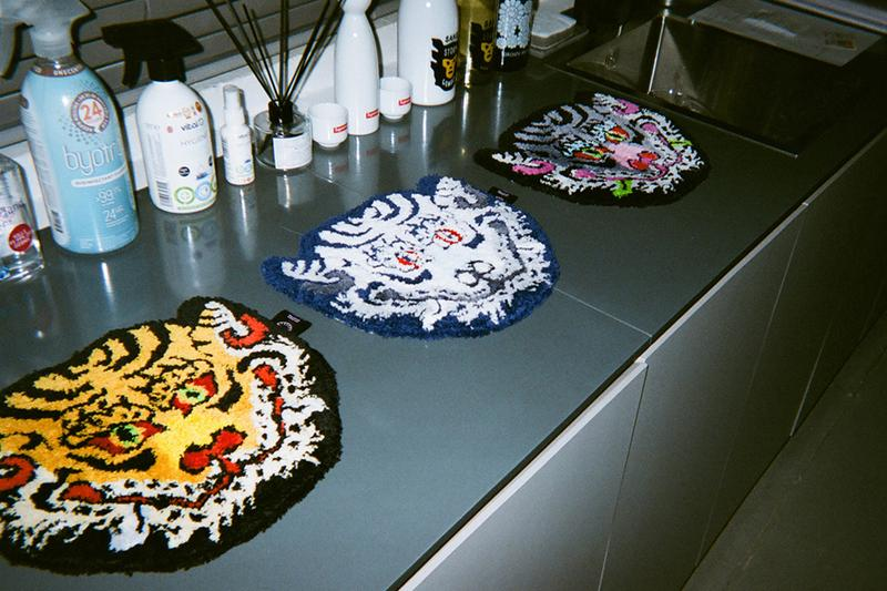 RAW EMOTIONS Cotton Candy Tiger Rugs Head Coasters Release Info Size Buy Price