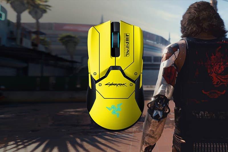 'Cyberpunk 2077' x Razer Viper Ultimate Charging Dock Cyberpunk 2077 Edition Release pre-order ps5 pc gaming dpi keanu reeves