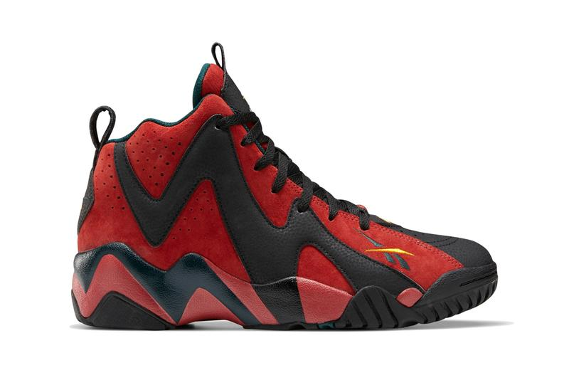 reebok kamikaze ii 2 mars red black forrest green yellow fz4006 shawn kemp official release date info photos price store list buying guide
