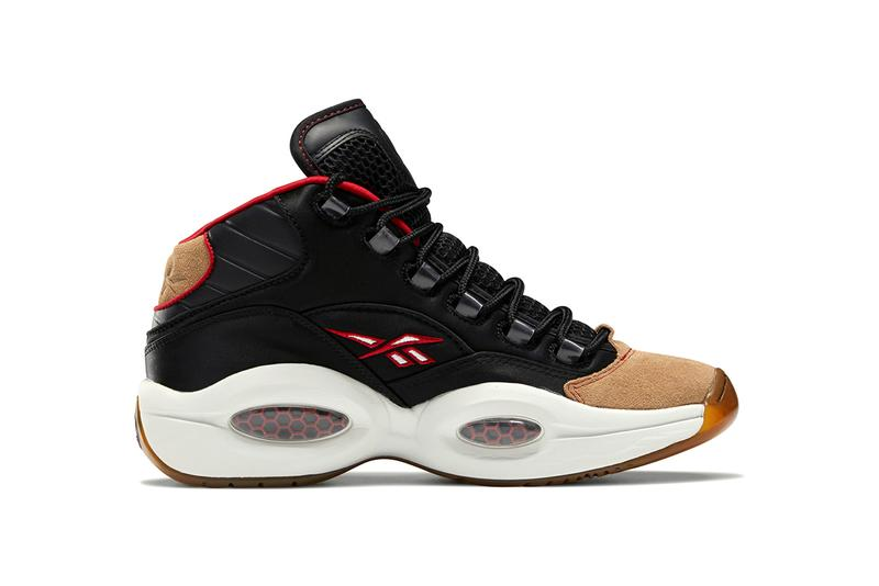 reebok question mid sixers allen iverson H00847 black flash red true grey offical release date info
