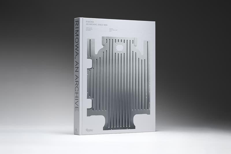 RIMOWA archive history book rizzoli lvmh off white fendi supreme dior porsche buy cop purchase release information