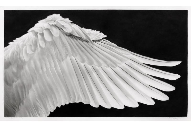 robert longo storm of hope exhibition jeffrey deitch gallery los angeles charcoal drawings sculptures