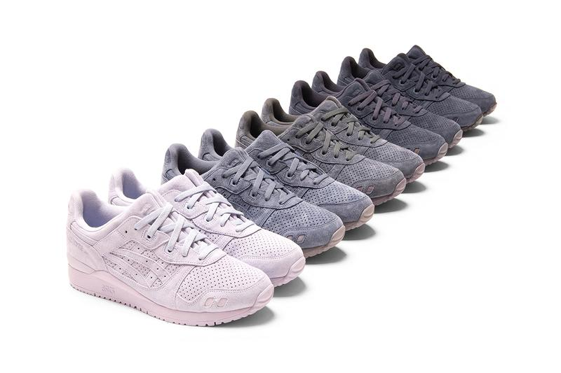 ronnie fieg asics the palette gel lyte 3 30 pairs kith release info date prices buying guide