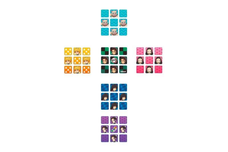 'Demon Slayer' Rubik's Cube Release puzzles cube Mugen Train Mega House ufotable anime manga