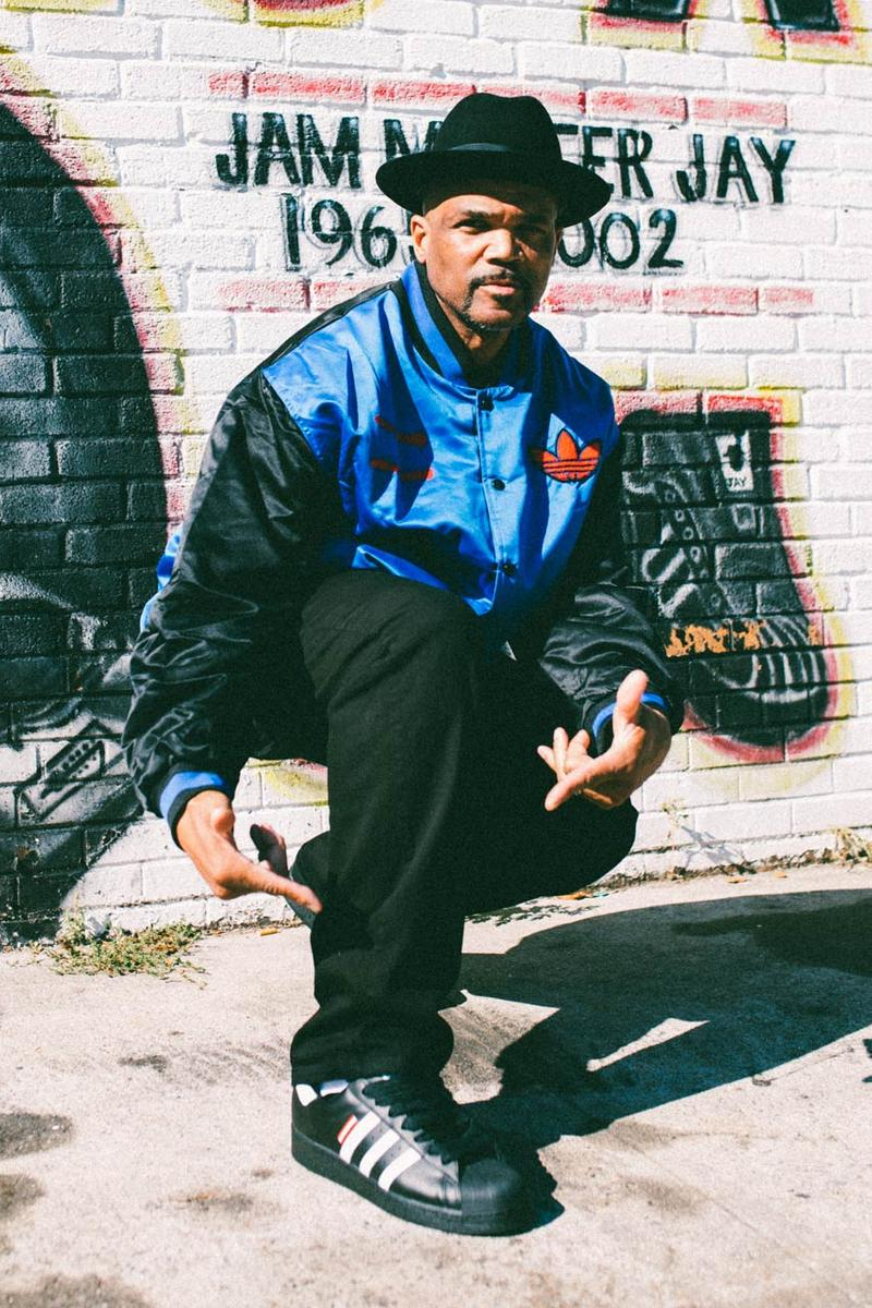 run dmc jam master jay rev run darryl mcdaniels adidas originals superstar FX7616 FX7617 core black cloud white hi res red jacket sweatshirt 2020 official release date info photos price store list buying guide