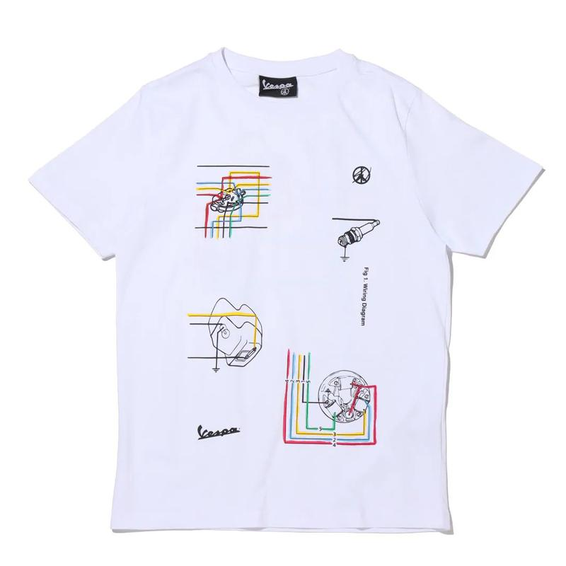 Sean Wotherspoon x Vespa Apparel Collaboration collection hoodies tee shirts sweatpants atmos