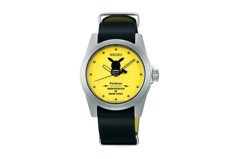 Seiko Pokémon Watch Collection Pikachu Eevee Mewtwo Watch Collection News Quartz watches style Japan pokeball