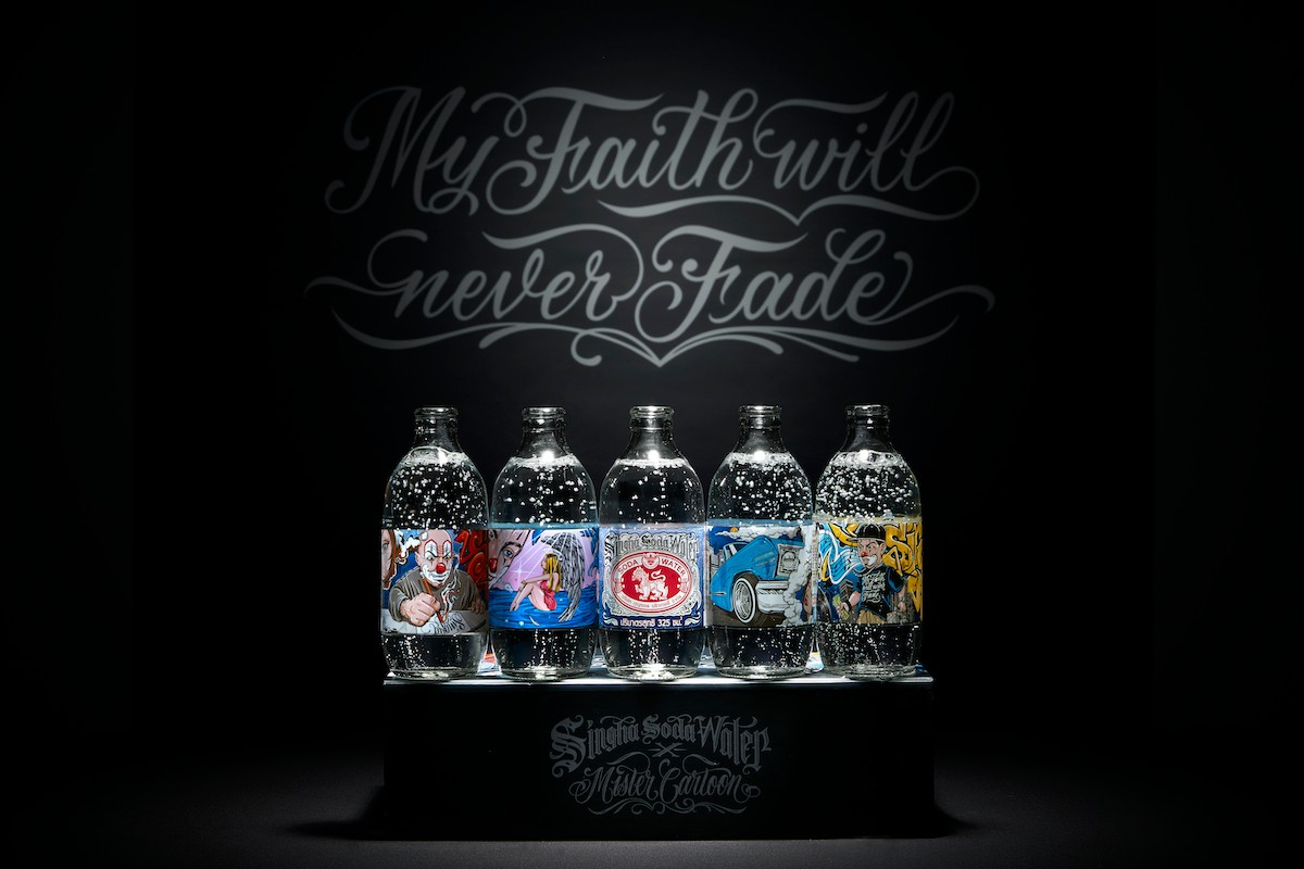 singha soda mister cartoon my faith will never faith campaign collection merchandise