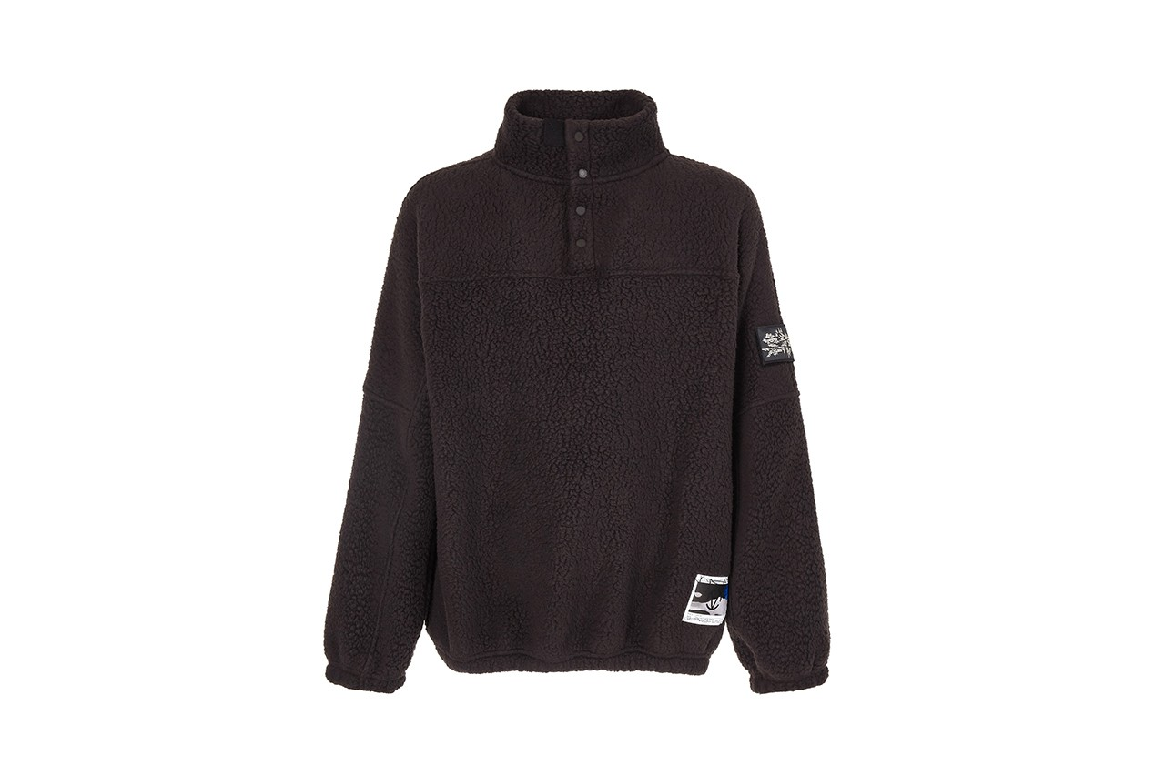 Slam Jam x GR10K Fall Winter 2020 FW20 Capsule Collection Cap T-Shirt Fleece Borg Liner Outwear Cozy Season Luxury Italian Upcycle Sustainability
