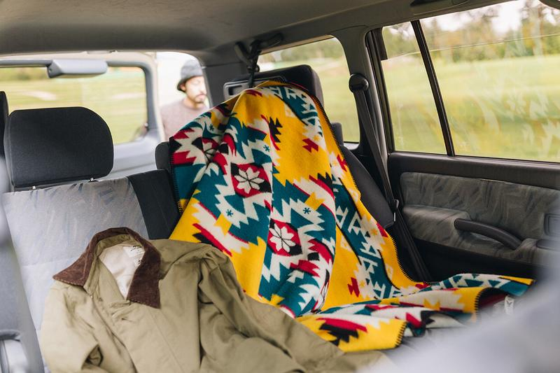 snow peak pendleton blanket muchacho navajo mountain majesty pattern print release information