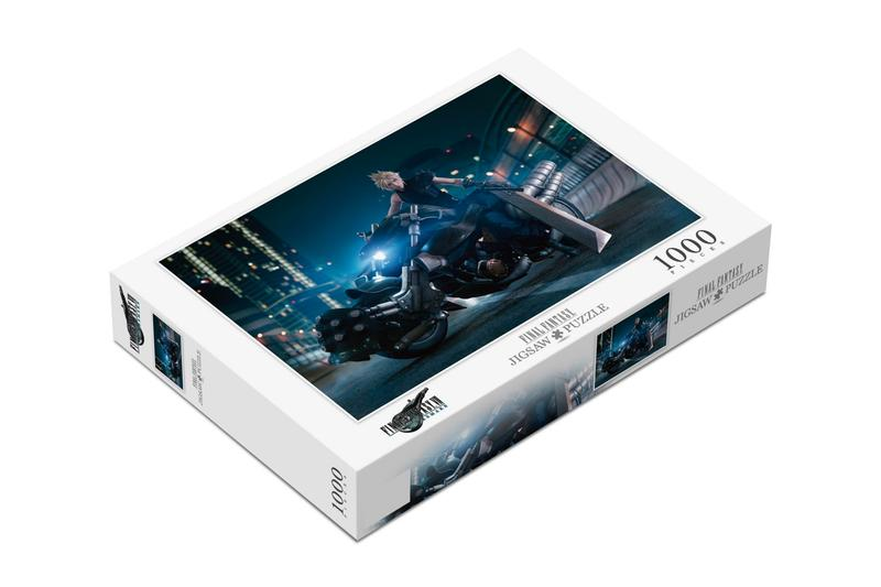 Square Enix 'Final Fantasy VII' Puzzles 500 1,000 cloud strife avalanche rpg ps4 ps5 remake squaresoft gaming barret Tifa Aerith Red XIII Yuffie Vincent,