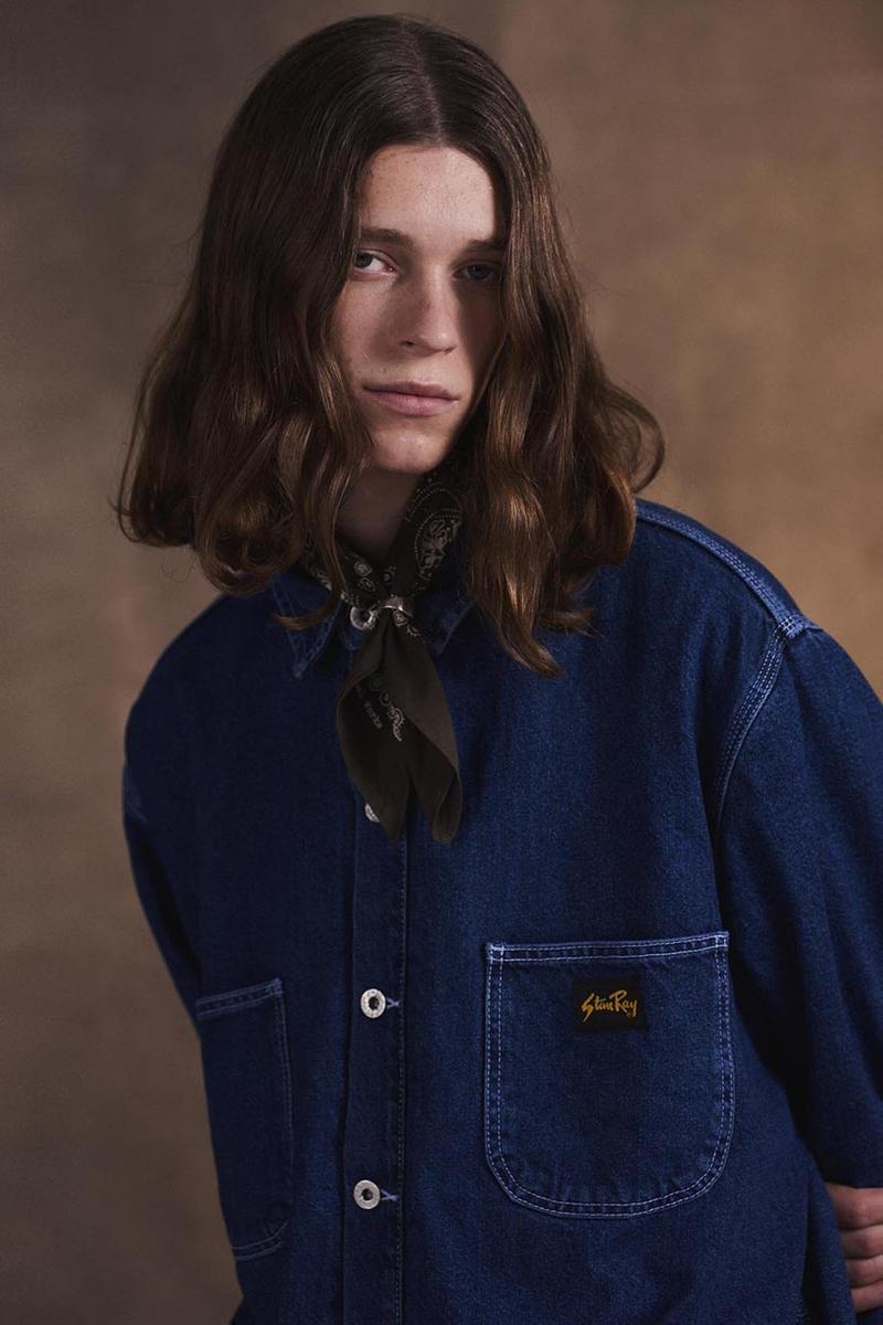 stan ray fall winter 2020 release information collection workwear americana details chore coat painter pant details