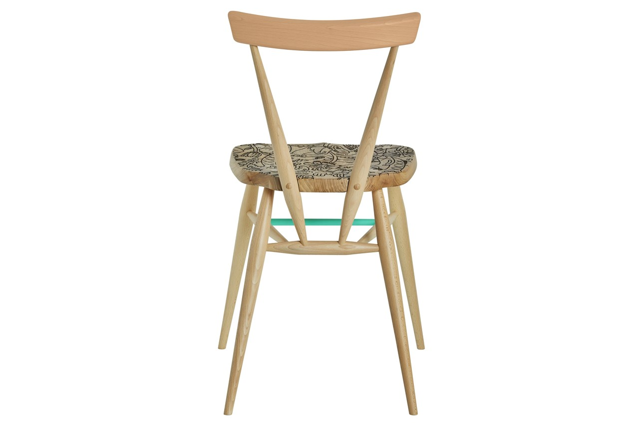 steven harrington l ercolani ercol stacking chair collaboration official release date info photos price store list buying guide