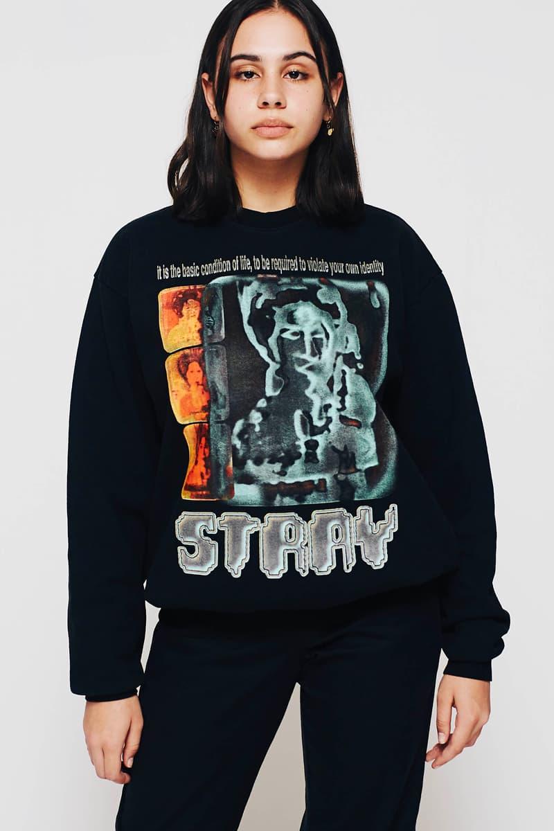 Stray Rats Fall Winter 2020 Lookbook menswear streetwear fw20 collection hoodies t shirts sweaters crewnecks