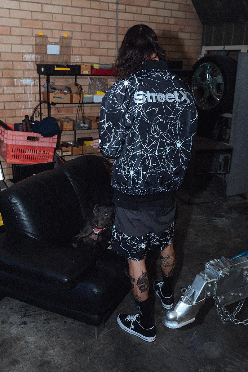 StreetX Holiday 2020 Collection Drop 1 Release Info James Smith T shirt Jacket Shorts Sportswear Pants