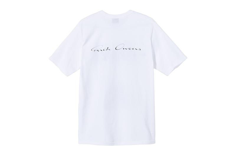 Stüssy 40th Anniversary World Tour T-Shirt Collab Rick Owens Virgil Abloh Takahiro Miyashita Marc Jacobs Martine Rose Release info Date Buy Price