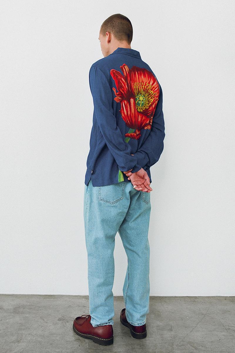 Stüssy Holiday 2020 Collection Lookbook Release Info Jacket shirt T Pants Jeans Trousers Sweater Hoodie Crewneck