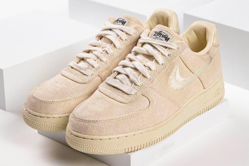 Stüssy x Nike Air Force 1 Low Release Date   HYPEBEAST