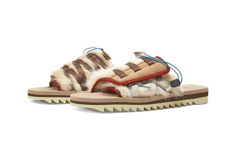 Suicoke Dao-3 slides Japanese indoor shoes beige black release information where to buy LN-CC