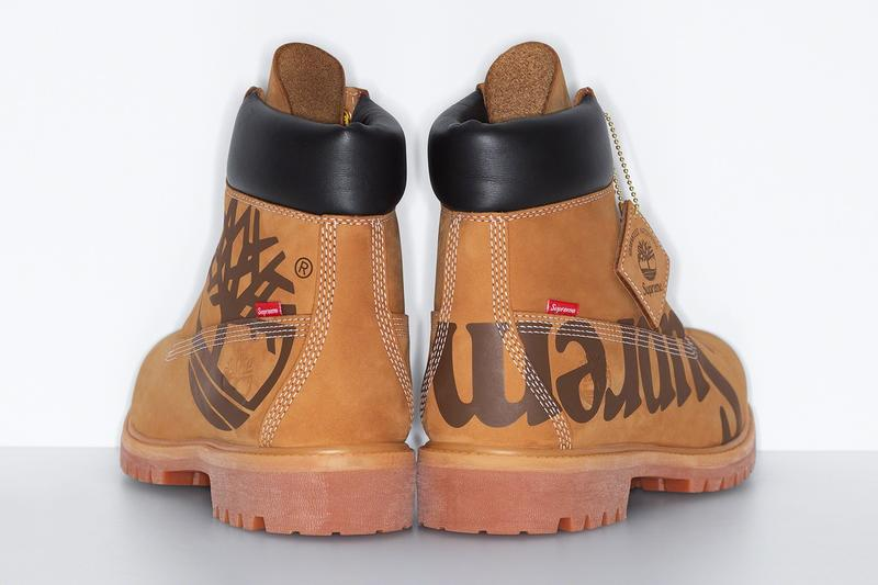 Supreme Timberland Fall Winter 2020 Collaboration Release Info