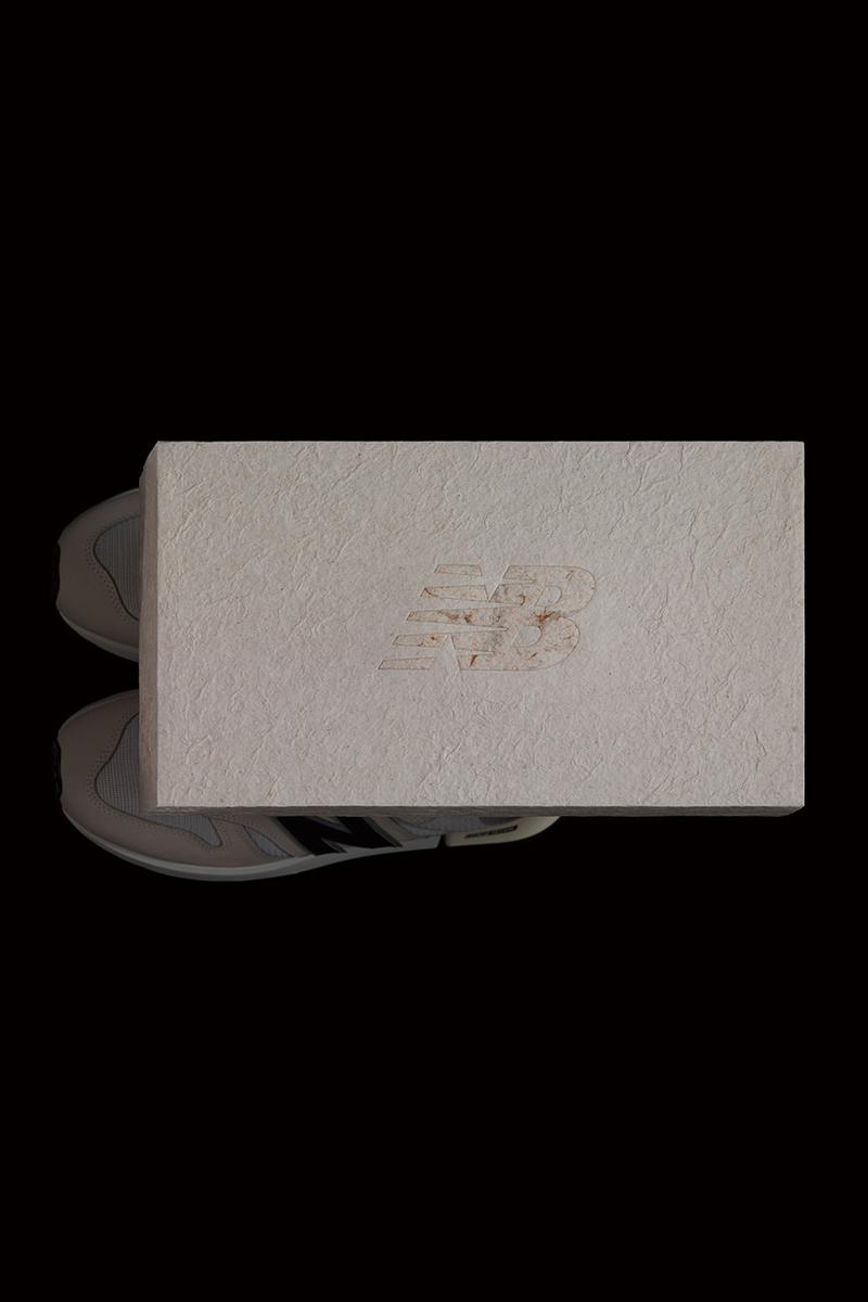 """Yoshihisa Tanaka """"Cooperative Research Vol.01"""" T-House New Balance nerhol gottingham tokyo design studio shoe boxes upcycle paper waste recycle sneaker collaboration exhbition"""