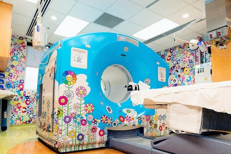takashi murakami childrens national hospital washington dc artworks