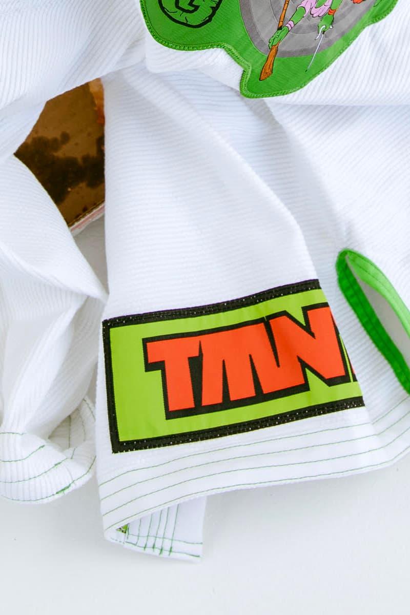 Teenage Mutant Ninja Turtles Albino & Preto Collection Release Info Gi T shirt Nickelodeon