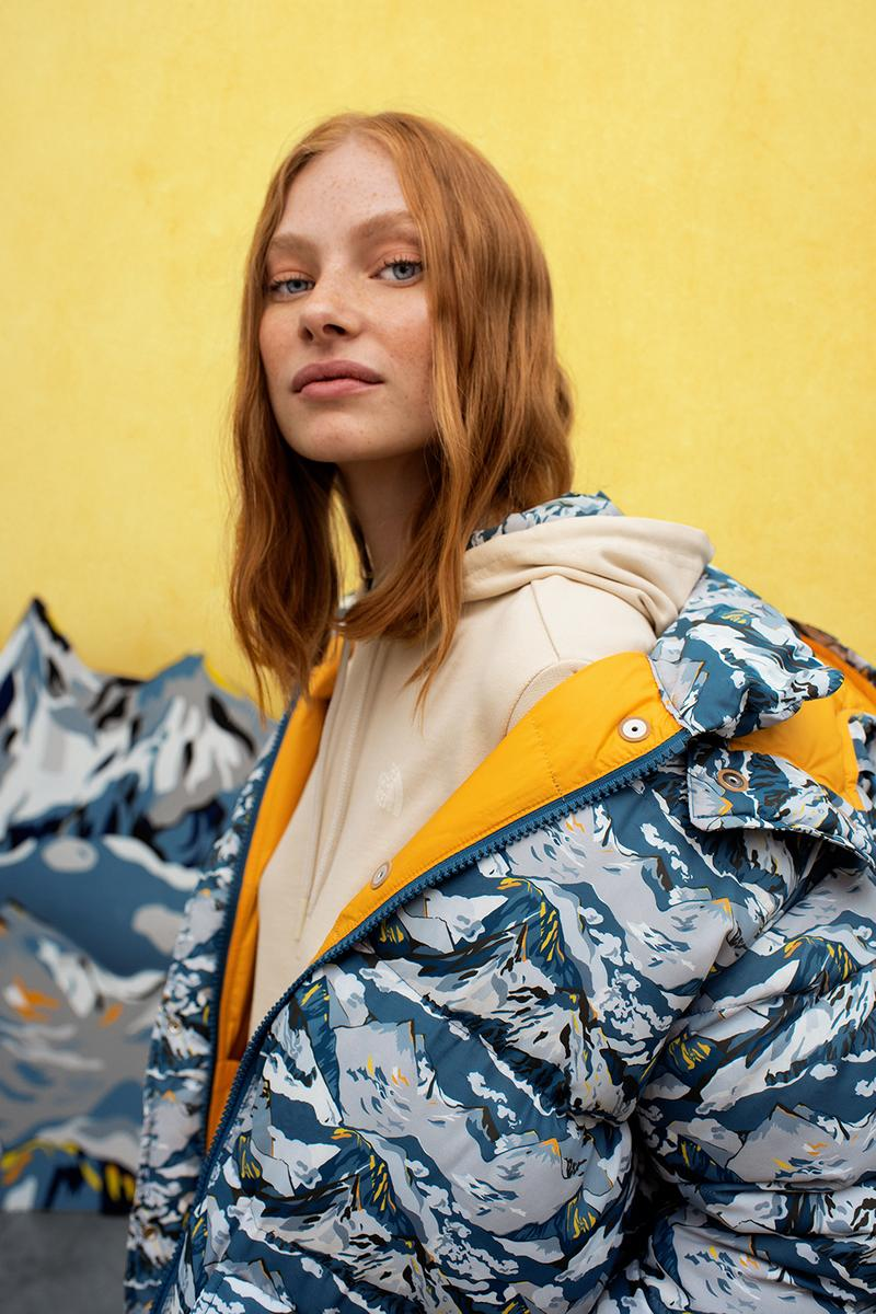 Liberty x The North Face Womenswear Collection 1968 Sierra Down Jacket Collaboration Print