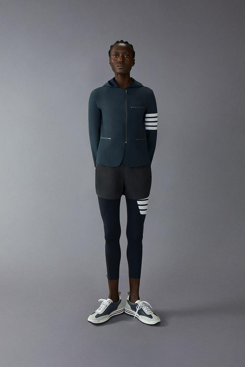 Thom Browne compression football collection release information high-end