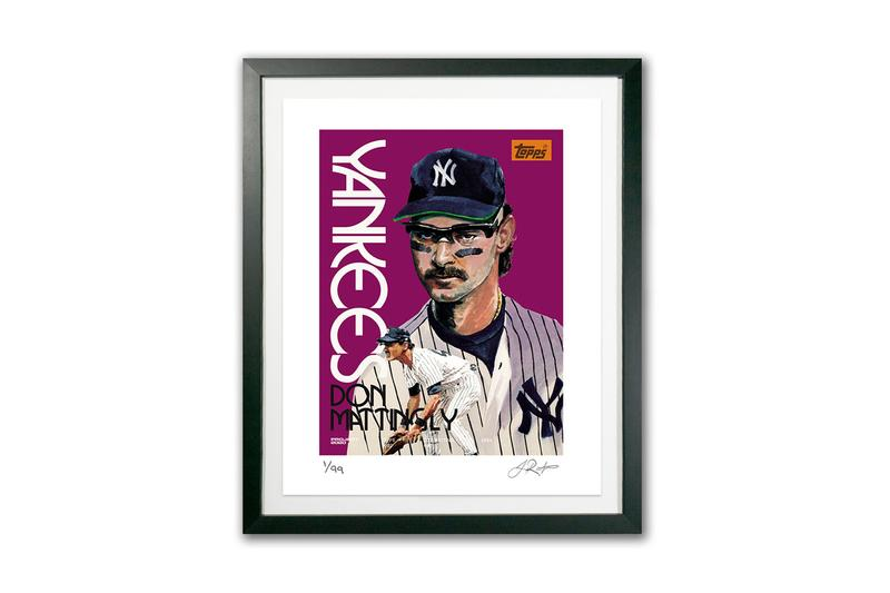 Topps fine art prints project editions collectibles designs artworks art