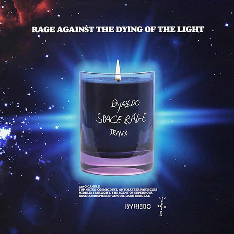 travis scott cactus jack byredo perfume candle release info pricing photos