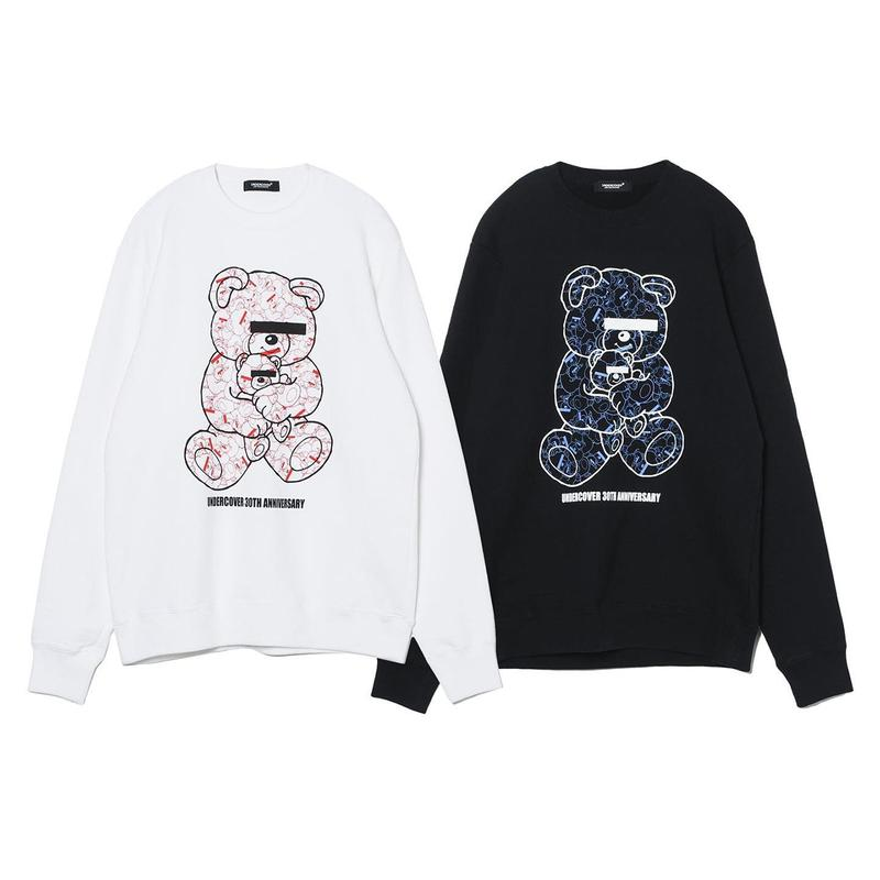 UNDERCOVER 30th Anniversary Apparel Collection clothing hoodies mods parka coat bear u logo graphic release date info buy tee shirt bear