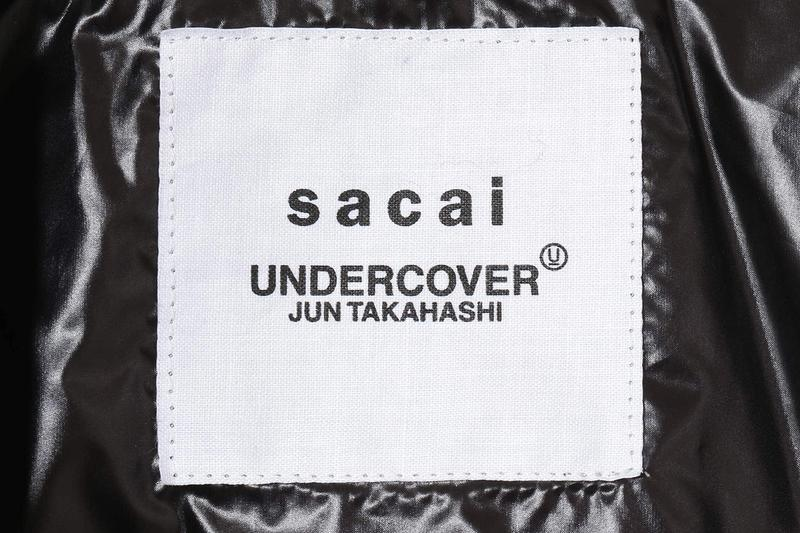 sacai x UNDERCOVER FW20 Transformable Rider's Jacket made to order fall winter 2020 collaboration blouson UCZ9203 price release date buy info