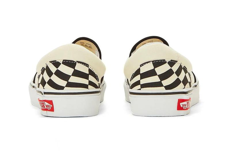 Vans Slip On Checkerboard Twist menswear streetwear fall winter 2020 collection fw20 shoes sneakers footwear trainers runners