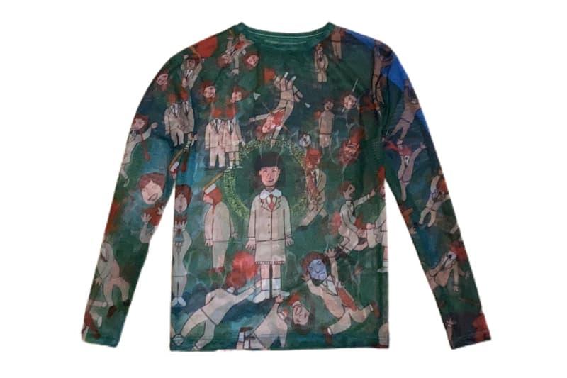 VETEMEMES Fall Winter 2020 Release Info Buy Price Hoodie T shirt Longsleeve Mesh Socks Bandana Hat Davil Tran