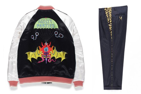WACKO MARIA Re-Enlists WOLF'S HEAD for Glittery Greaser Capsule