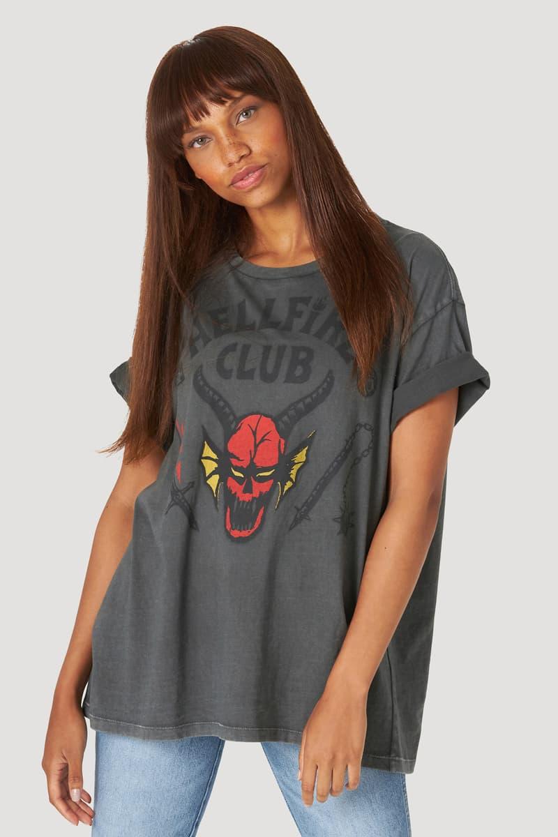 Collection launch Hellfire club inspired 80s 18th century Britain and Ireland historical crew amen's t-shirt,women's t-shirt&gender neutral denim jacket
