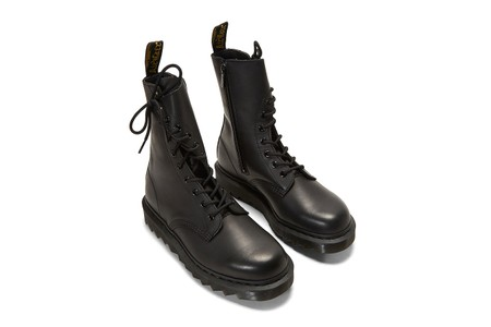 Yohji Yamamoto and Dr. Martens Drop $1,190 USD Asymmetrical Temperley Twisted Boots